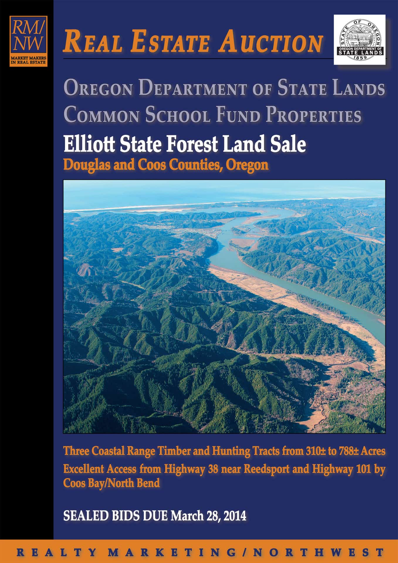 For Sale: Cheap! Oregon State Forest Land — Get It Now