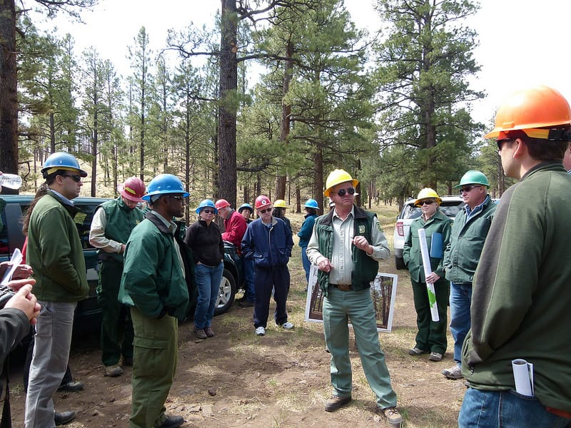 Forest Service photo of 4FRI