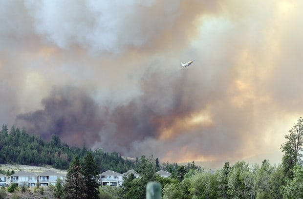 Wildfires cost British Columbia more that just the suppression expenses; studies show that total costs including home and business losses and human health can be two to 60 times the sums of fighting the fires. Photograph by: Bruce Edward