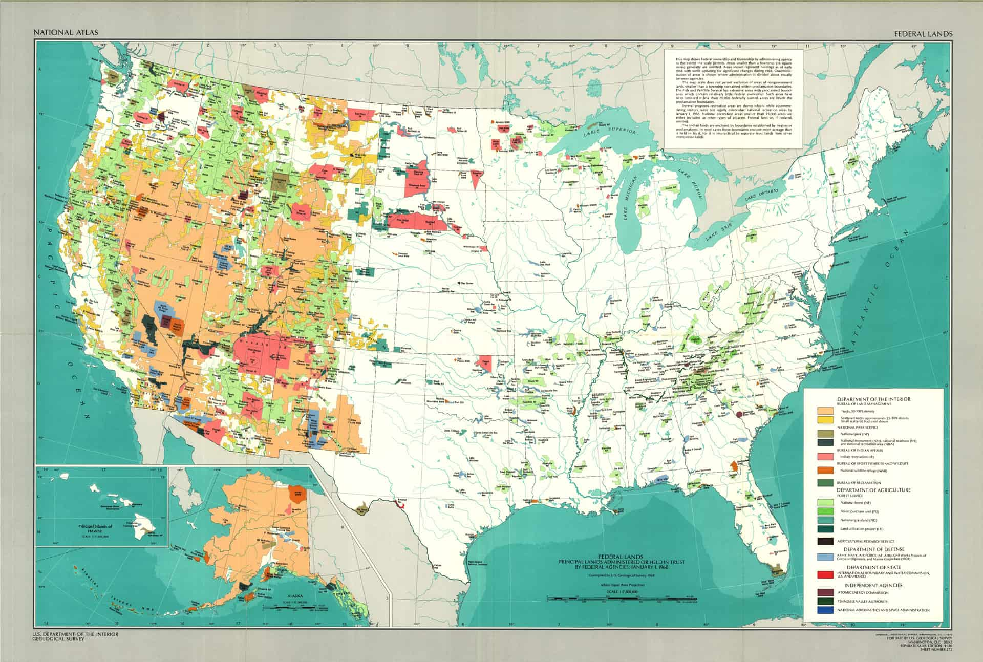 """Map from """"One Third of the Nation's Land"""""""