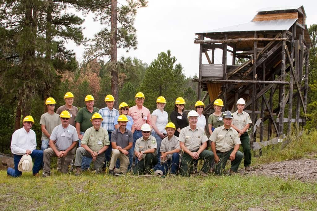 Recent photo of the Black Hills Advisory Committee (FACA)